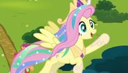 S04E21 Fluttershy jako Celestia