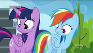 S06E24 Świecące się znaczki Twilight Sparkle i Rainbow Dash