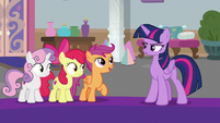 "Scootaloo ""been working with her for days!"" S8E12"