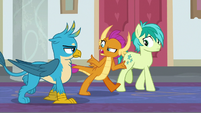 "Smolder ""these ponies are the heroes"" S8E1"