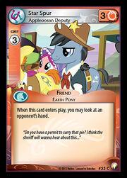 Star Spur, Appleoosan Deputy card MLP CCG.jpg