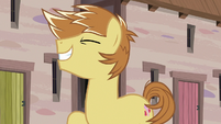 Feather Bangs flips his mane one last time S7E8