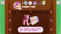 MLP Friendship Celebration app - Pursey Pink unlocked