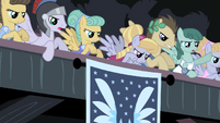 Pegasus ponies applause S2E11