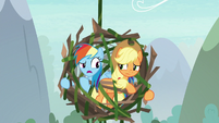 """Rainbow """"no trophy is worth getting eaten"""" S8E9"""