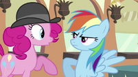 "Rainbow Dash ""I don't HAVE pink hair in my mane, genius!"" S2E24"
