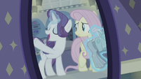 """Rarity """"for your role as Shop Pony!"""" S8E4"""