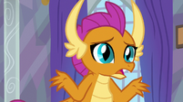 """Smolder """"dragons can be kind of rough"""" S9E9"""