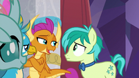 """Smolder """"she's gone full pony"""" S9E7"""