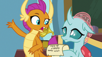 """Smolder sarcastic """"that'll fix everything"""" S9E15"""