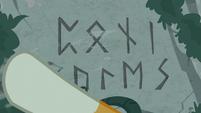 Sunburst uncovering ancient magic runes S7E25