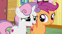"Sweetie Belle ""we need to give them"" S9E12"