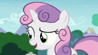 """Sweetie Belle """"you don't still play with the same toys"""" S7E6"""