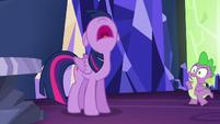 "Twilight shouting ""I wasn't included!"" S5E22"