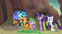 Ember --what are they doing here-!-- S6E5