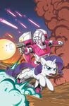 My Little Pony Transformers issue 1 cover RI-A textless