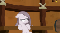 Pinkie looking depressed and irritated S8E18