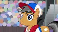 Quibble Pants hearing Rainbow Dash S9E6