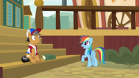"Rainbow ""we haven't even gotten started!"" S9E6"