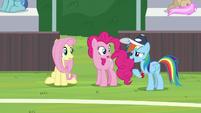 "Rainbow Dash ""not bad, right?"" S9E15"