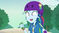 Rainbow Dash chewing on lettuce EGDS32