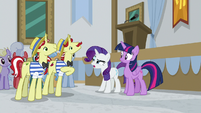 "Rarity ""we know what it means"" S8E16"