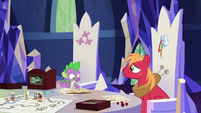 """Spike """"he calls his friends over"""" S6E17"""