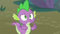 """Spike """"it's called the molt effect"""" S8E11"""
