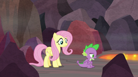 """Spike """"only thing that cheers him up"""" S9E9"""