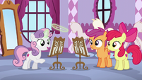 Sweetie Belle counting 1, 2, 3 S6E4
