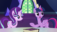 """Twilight Sparkle """"how would you girls feel about"""" S7E14"""