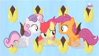CMC together in the song S3E4