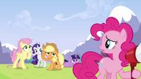 Pinkie Pie 'Do you think she heard me?' S3E7