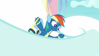 """Rainbow """"a whole bunch of storm clouds"""" S9E22"""