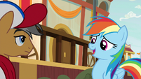 "Rainbow Dash ""that goal you scored"" S9E6"