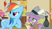 Rainbow Dash who me S2E8
