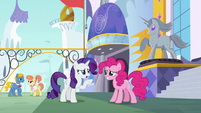 """Rarity """"sounds like your stomach is saying"""" S6E12"""