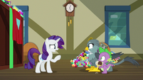 Rarity -you two know each other-- S9E19