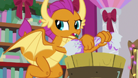 "Smolder ""cut to the chase"" S8E16"