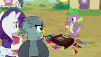 Spike appears with ice cream again S9E19