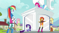 Sunset Shimmer -how we can get in touch with Twilight- EG2