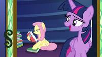 "Twilight Sparkle ""good night, Fluttershy"" S7E20"