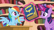 Twilight levitating book S4E21.png