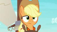 Applejack looking very confused S6E22