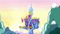 Castle of Friendship at sunrise S5E13