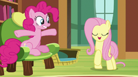"""Fluttershy """"no, not exactly"""" S7E5"""