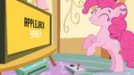 Hub Promo - 8 bit commercial Pinkie celebrating