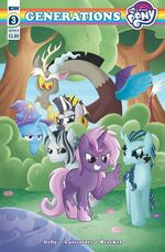 MLP Generations issue 3 cover B