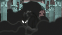 Pony of Shadows emerging from the darkness S7E26
