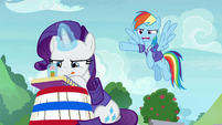 """Rainbow """"supposed to be holding your bucket!"""" S8E17"""
